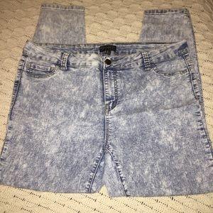 Forever 21 Jeans - ACID WASH JEANS